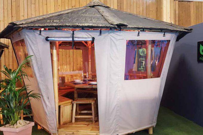 Protection cabane - Nipahut