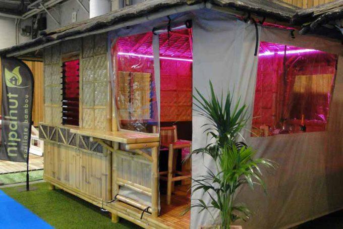 Protection cabane extérieure